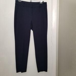 Mercantile dark blue slim cropped pants 6 -C9